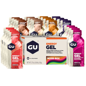 GU Energy Gel Box 24x32g Mixed